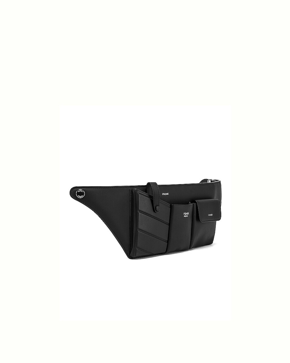 Image 4 of Fendi Pocket Belt Bag in Black