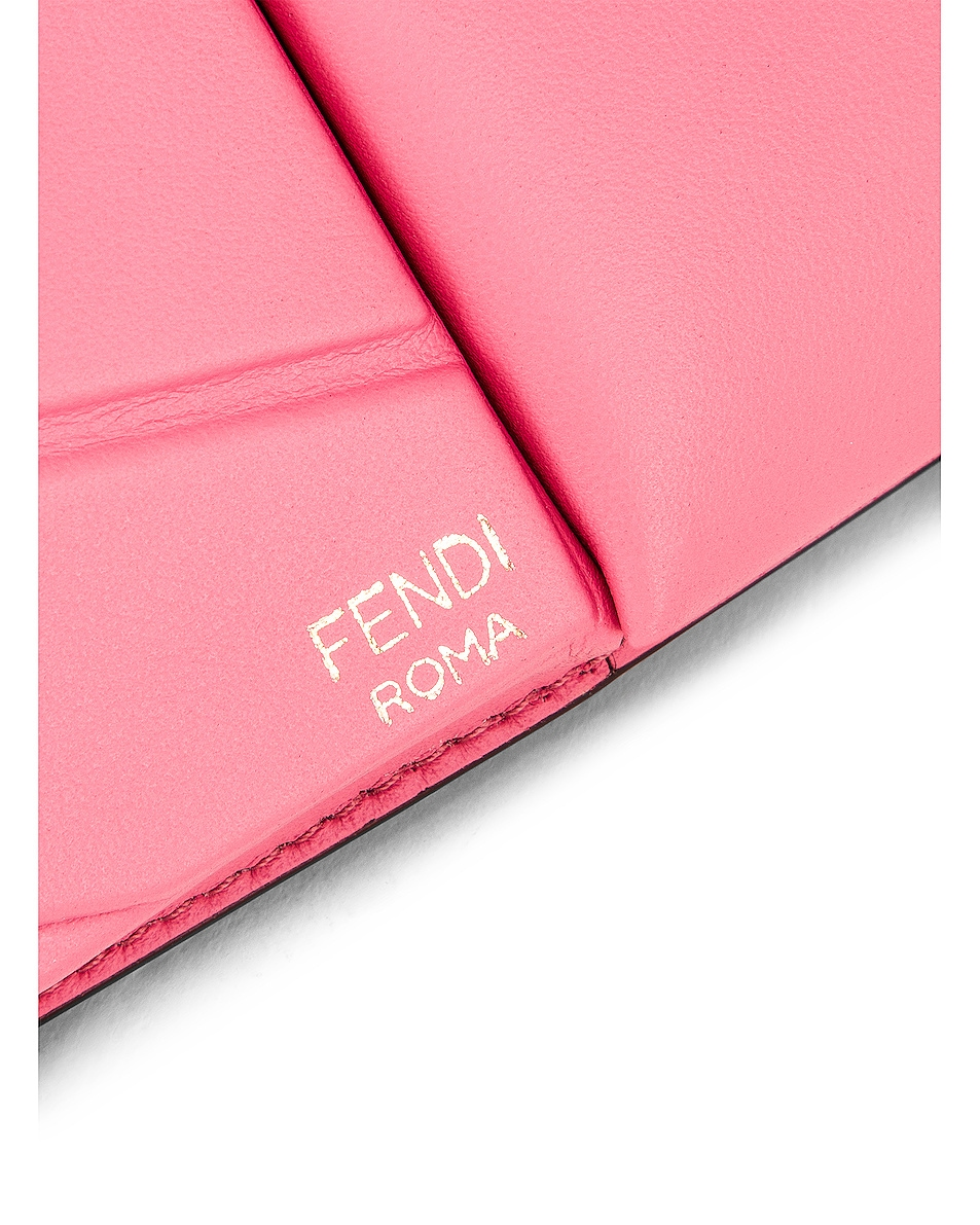 Image 7 of Fendi Mini Bustine Two Pocket Crossbody Bag in Pink