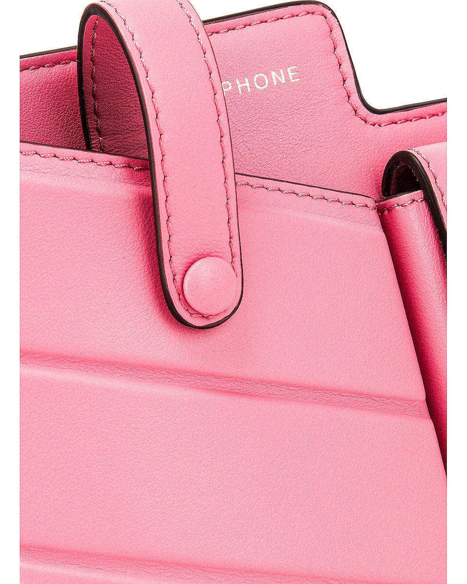 Image 8 of Fendi Mini Bustine Two Pocket Crossbody Bag in Pink