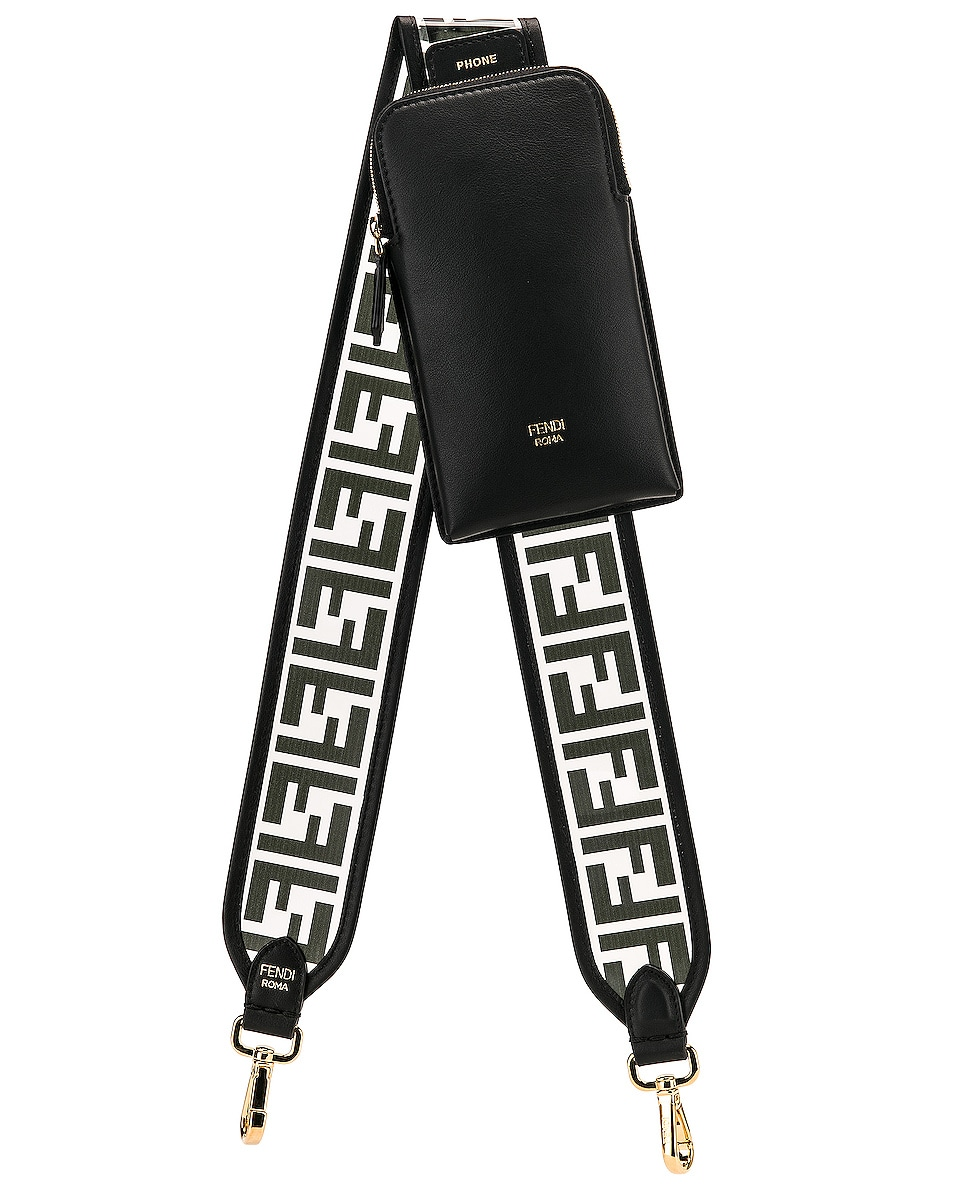 Image 1 of Fendi Bag Strap in Black