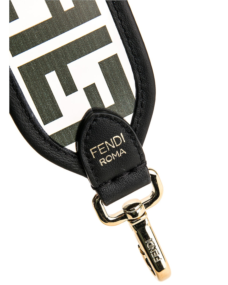 Image 6 of Fendi Bag Strap in Black