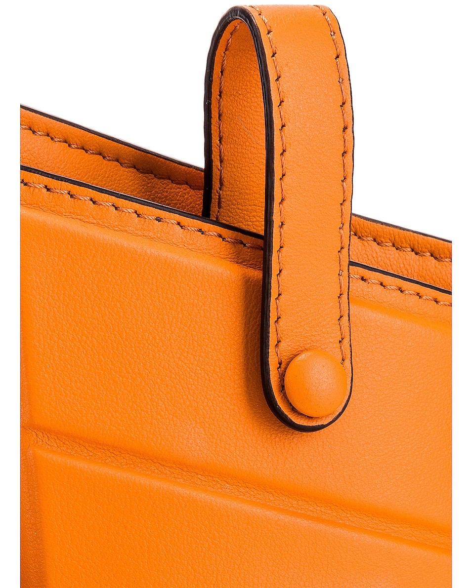 Image 8 of Fendi Mini Three Pocket Crossbody in Orange