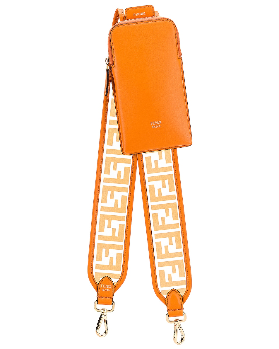 Image 1 of Fendi Bag Strap in Orange