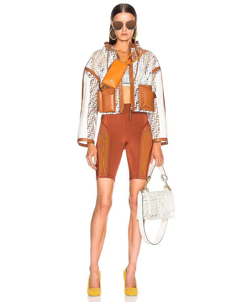 Image 2 of Fendi Bag Strap in Orange