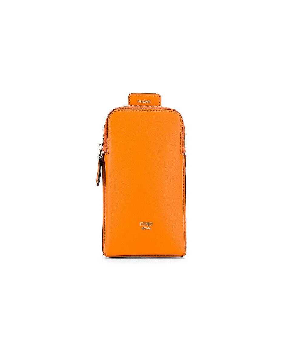 Image 3 of Fendi Bag Strap in Orange