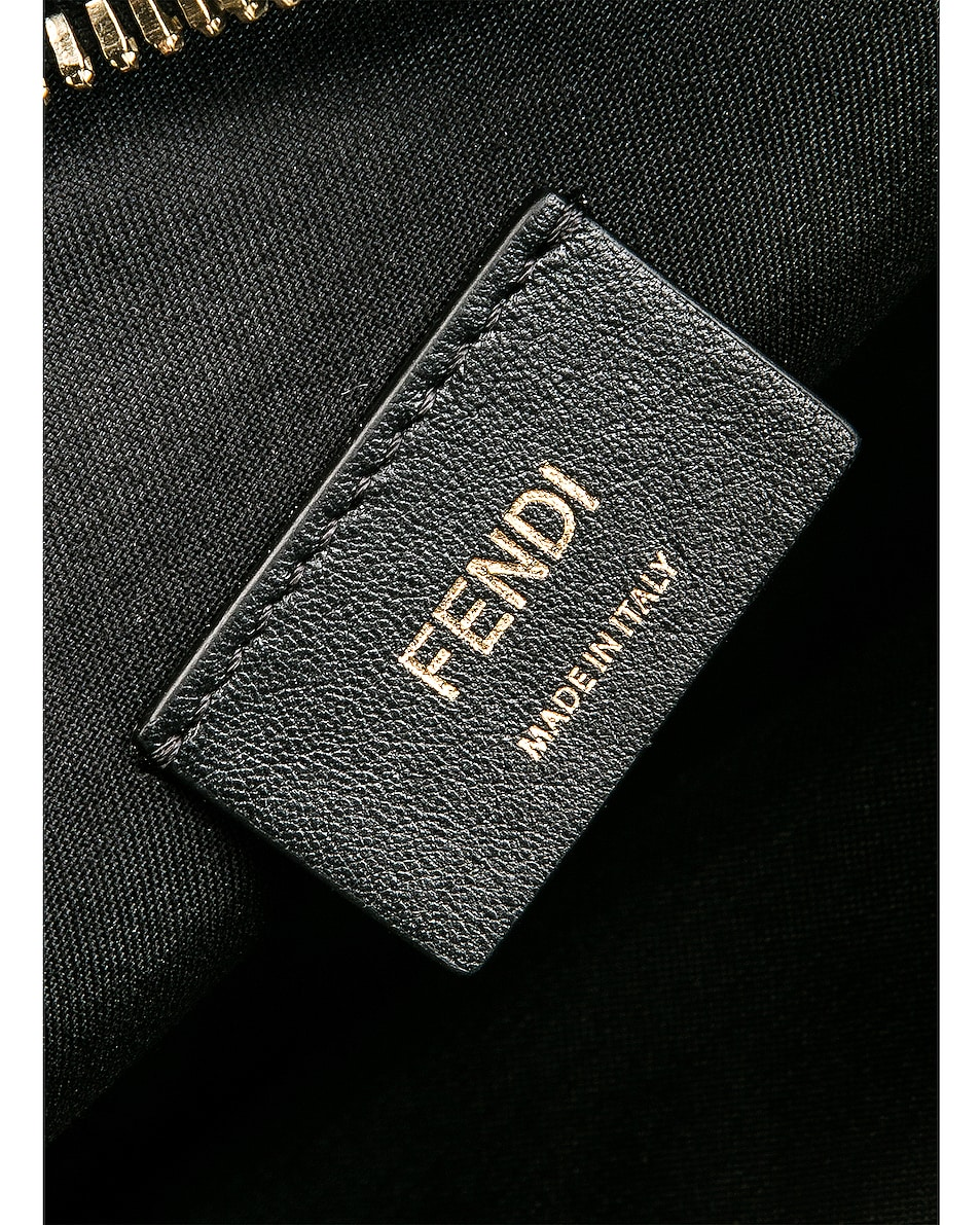 Image 7 of Fendi Upside Down Crossbody Bag in Black