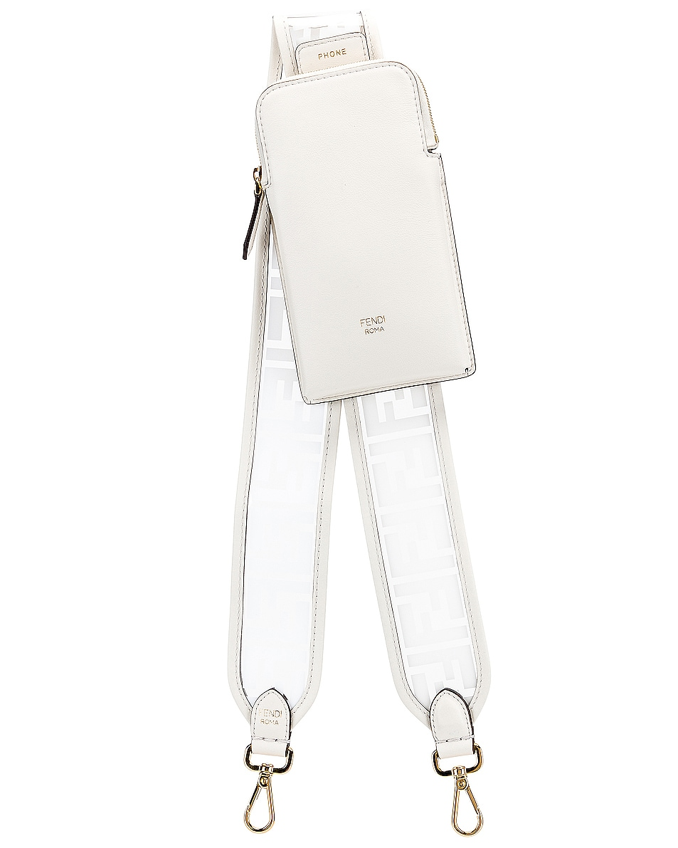 Image 1 of Fendi Bag Strap in White