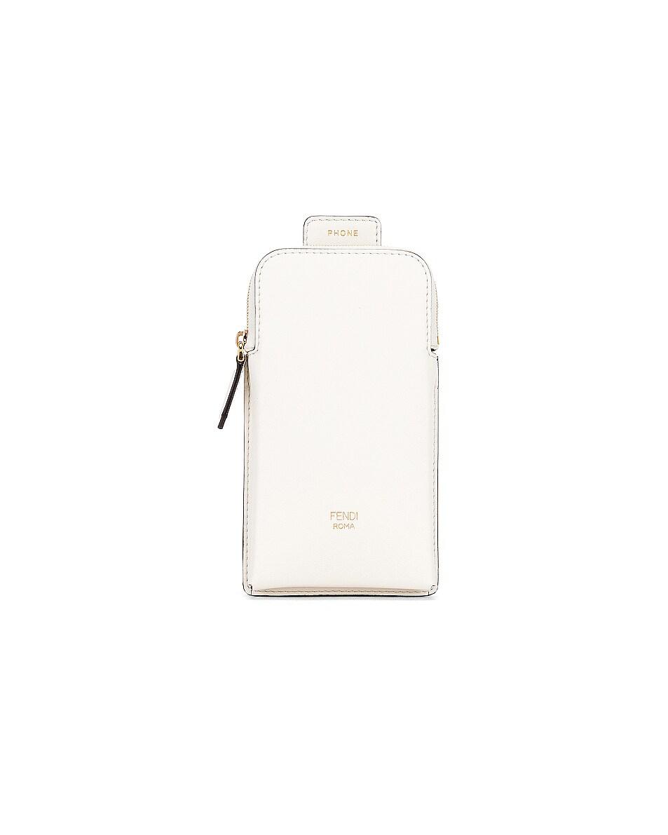 Image 3 of Fendi Bag Strap in White