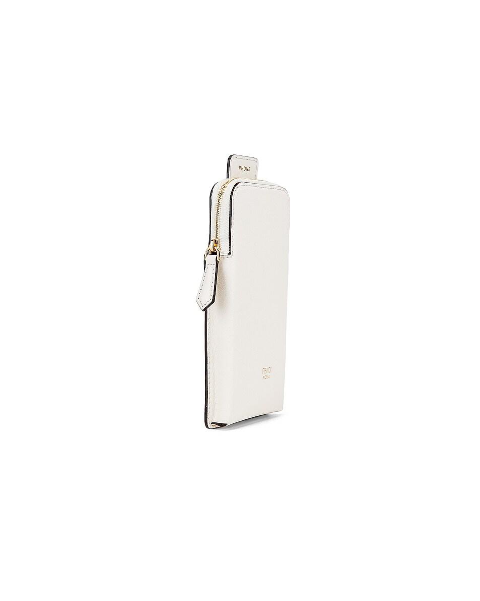 Image 5 of Fendi Bag Strap in White