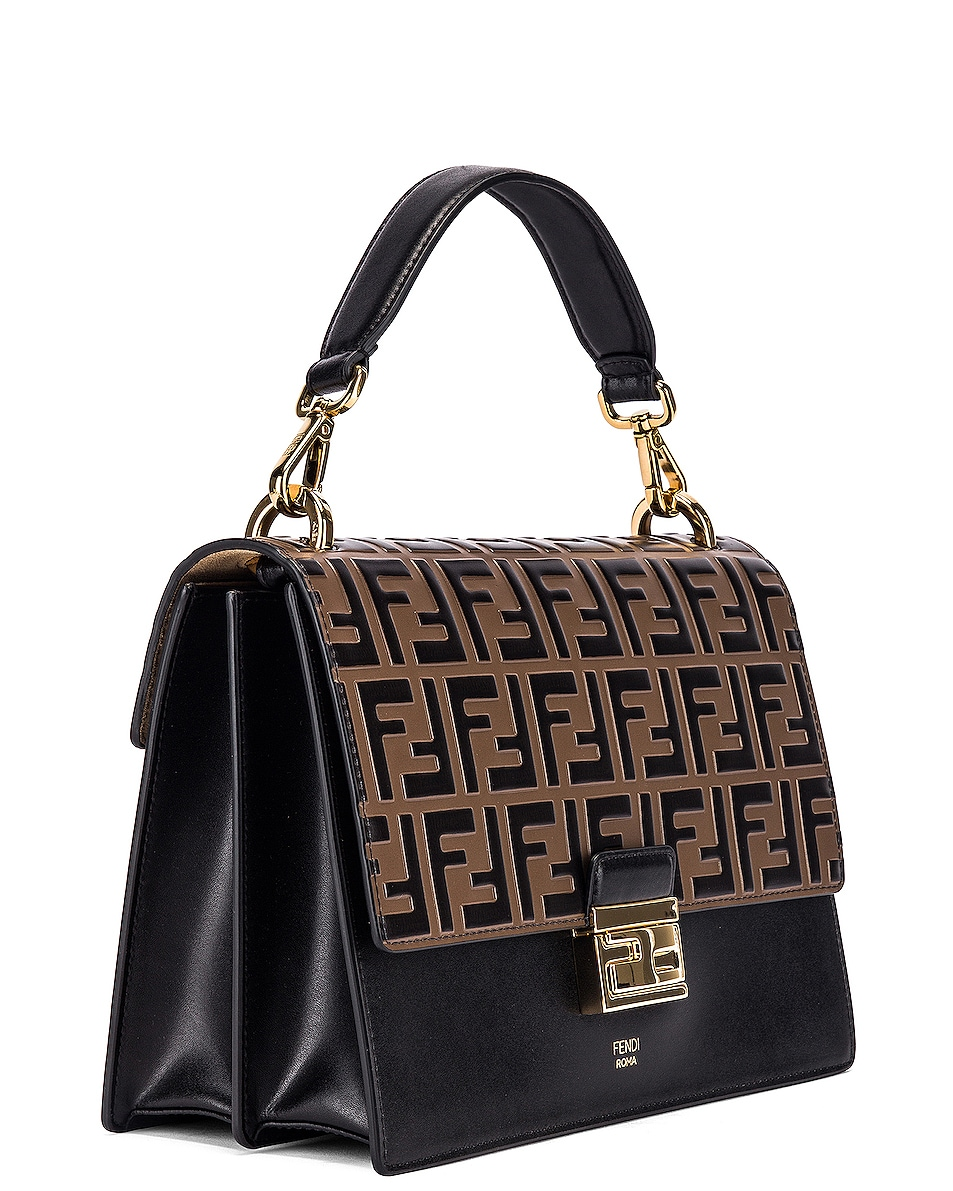 Image 4 of Fendi Kan I Bag in Black