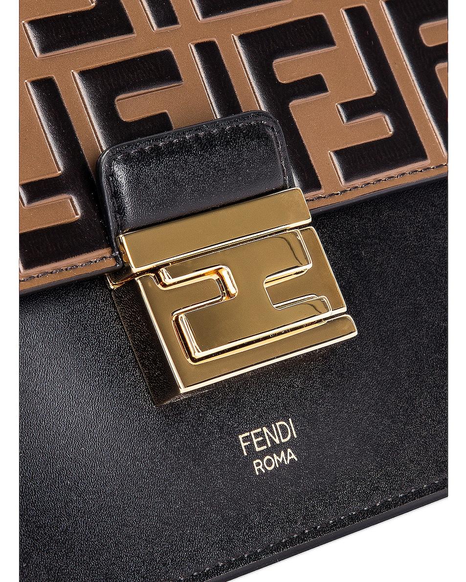 Image 8 of Fendi Kan I Bag in Black