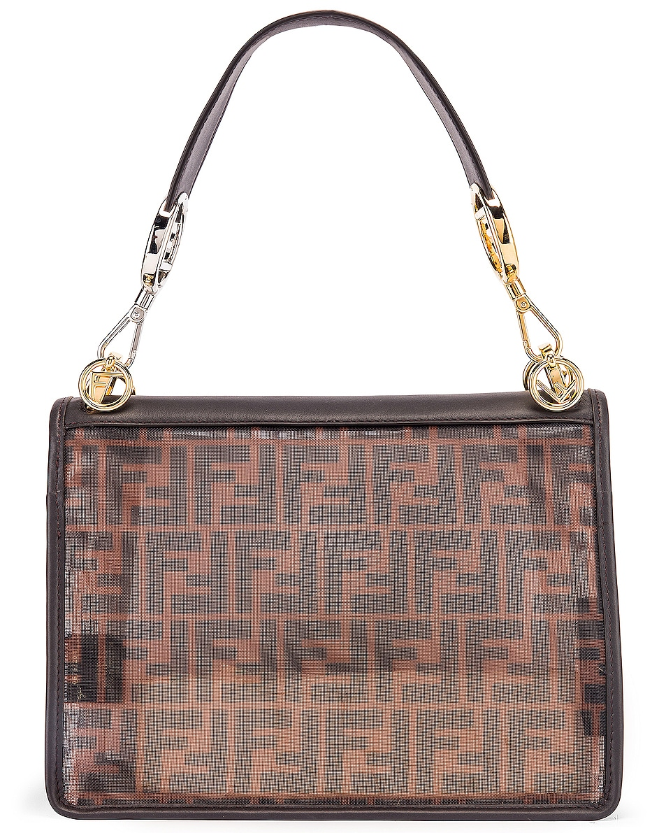 Image 3 of Fendi Kan I Bag in Brown & Black