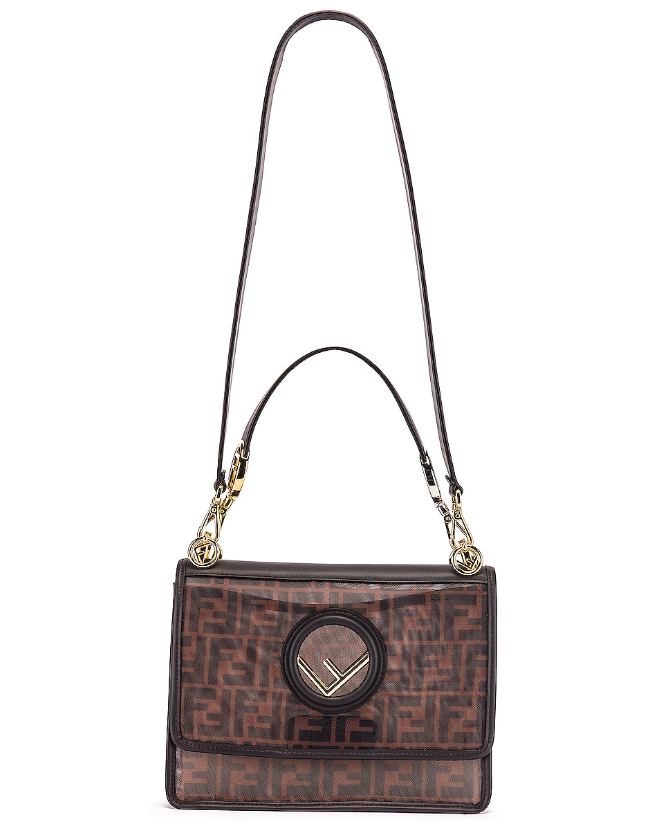 Image 6 of Fendi Kan I Bag in Brown & Black