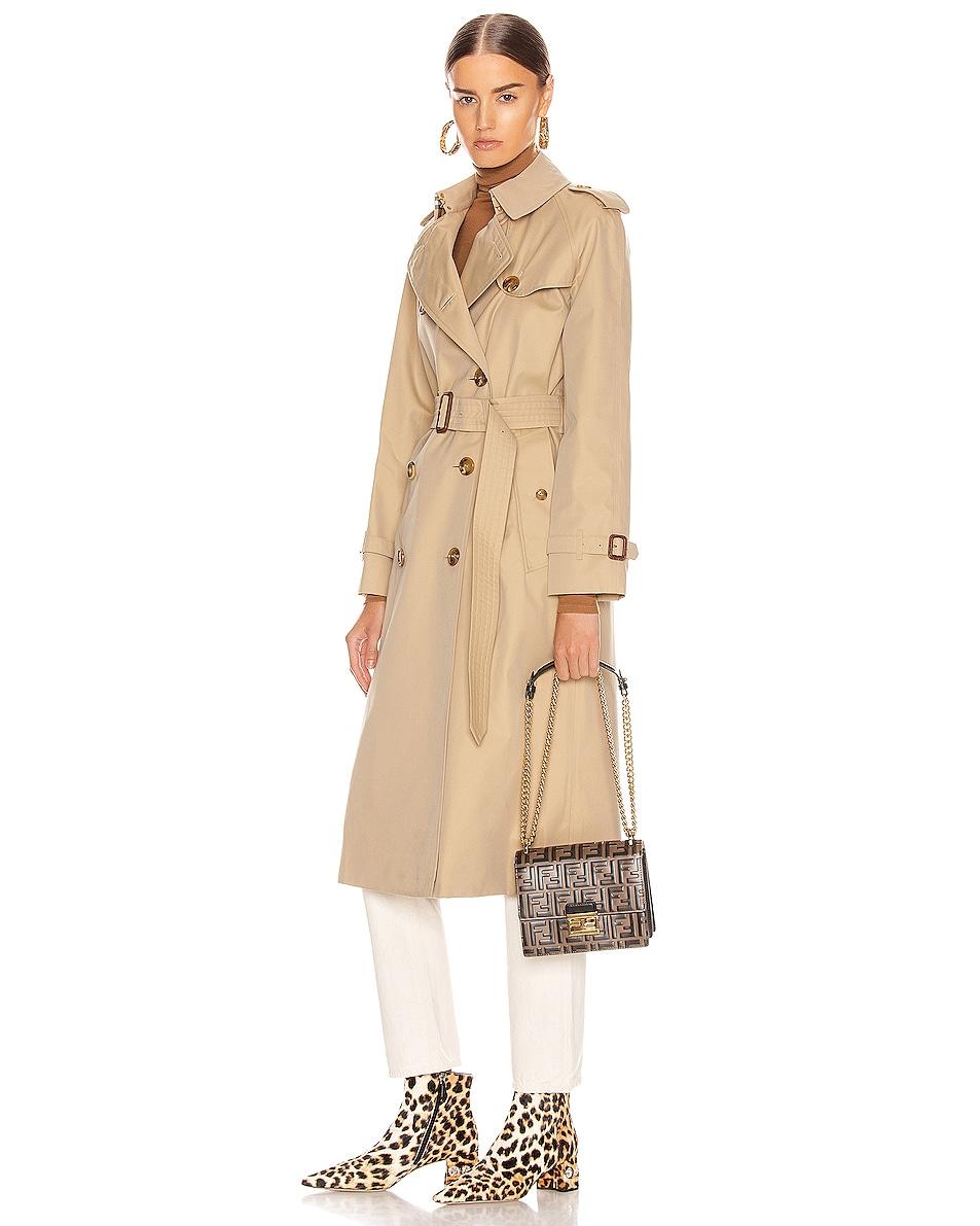 Image 2 of Fendi Small FF Kan I Bag in Black & Brown