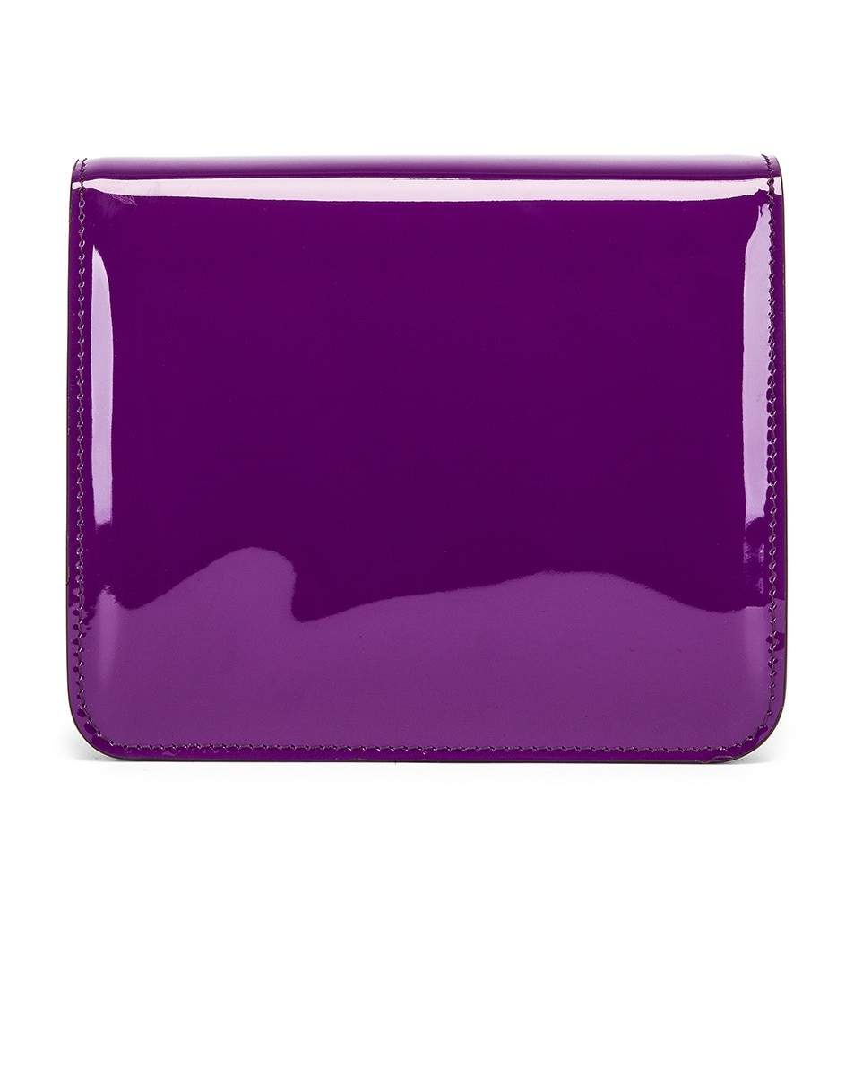 Image 2 of Fendi Karligraphy Mini Bag in Purple