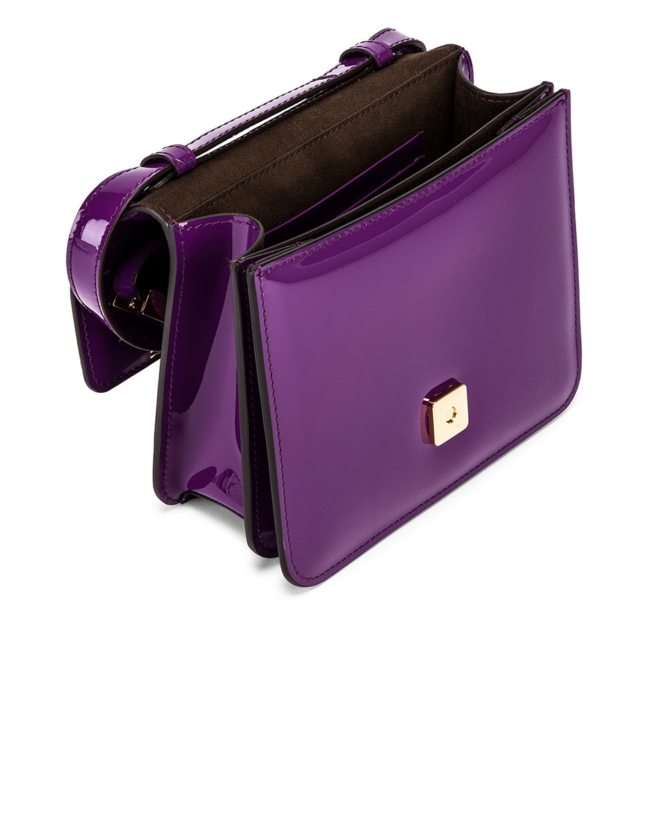 Image 4 of Fendi Karligraphy Mini Bag in Purple