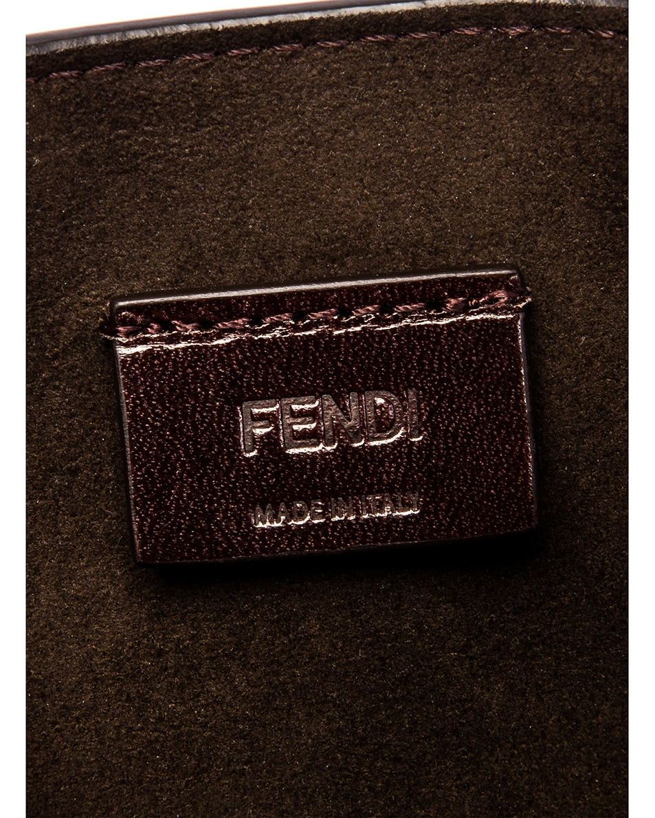 Image 6 of Fendi Karligraphy Mini Bag in Purple