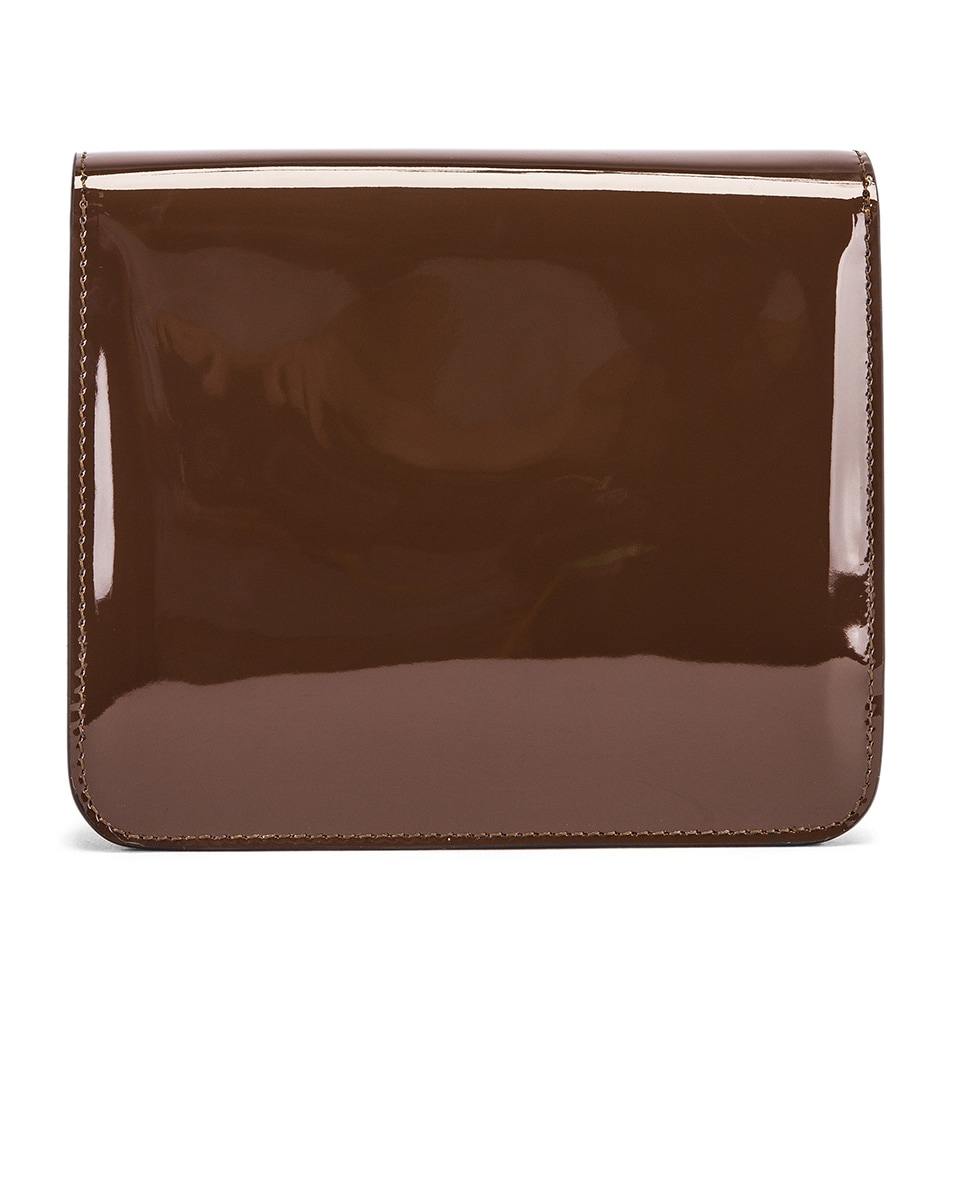Image 3 of Fendi Karligraphy Mini Bag in Brown