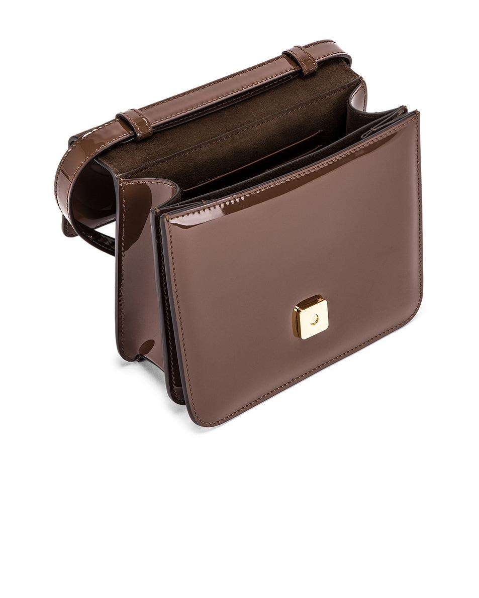Image 5 of Fendi Karligraphy Mini Bag in Brown