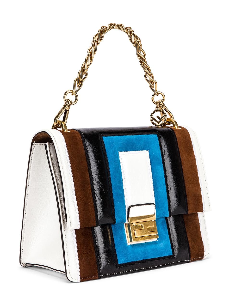 Image 4 of Fendi Embossed Kan U Bag in Multi