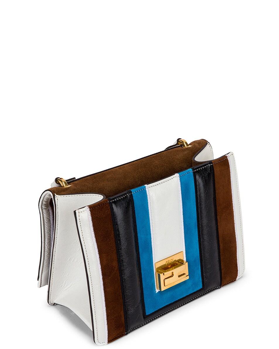 Image 5 of Fendi Embossed Kan U Bag in Multi