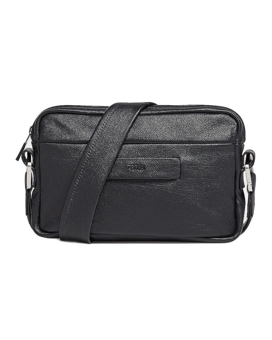 Image 1 of Fear of God Exclusively for Ermenegildo Zegna Mini Cross Body Bag in Black