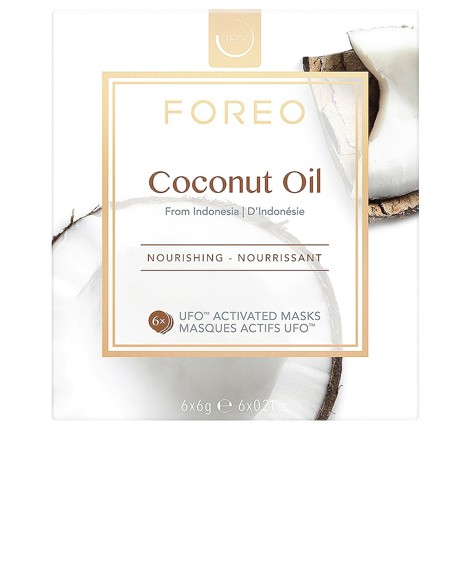 Image 1 of FOREO UFO Mask 6 Pack in Coconut Oil