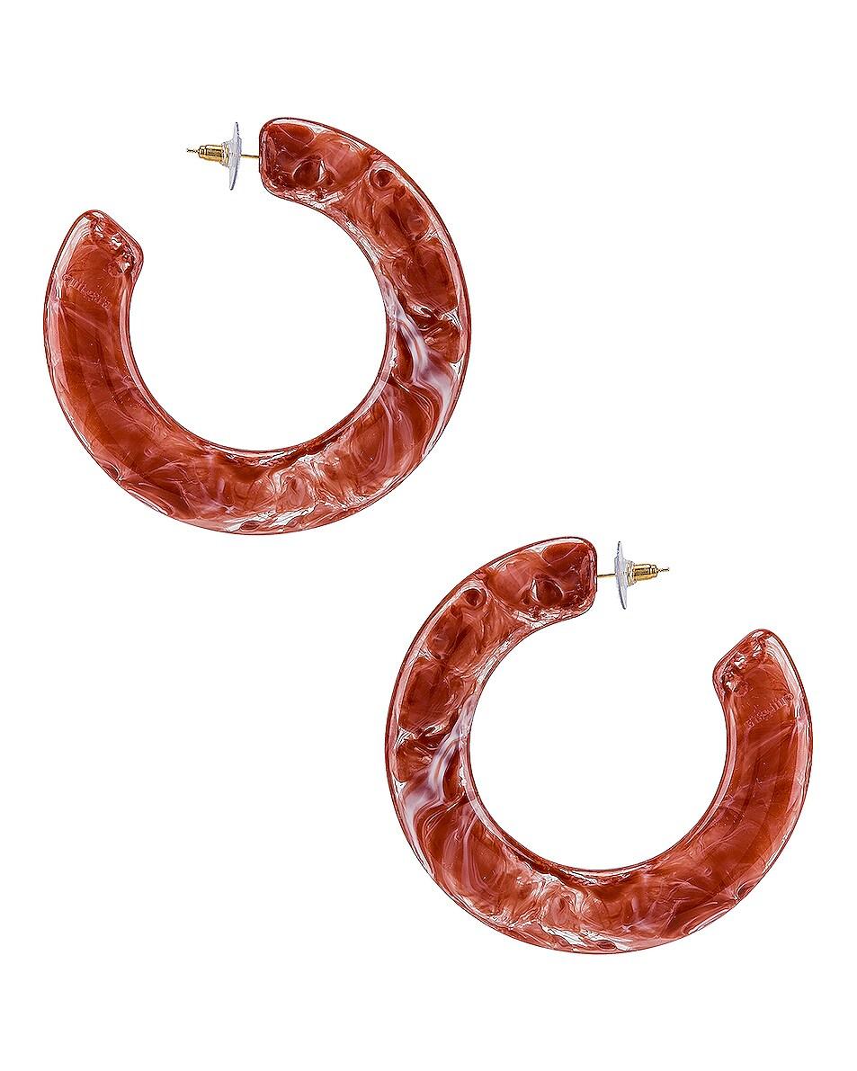Image 4 of Cult Gaia Kennedy Earrings in Melon