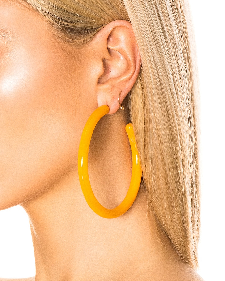 Image 2 of Cult Gaia Geneva Earrings in Yellow Quartz