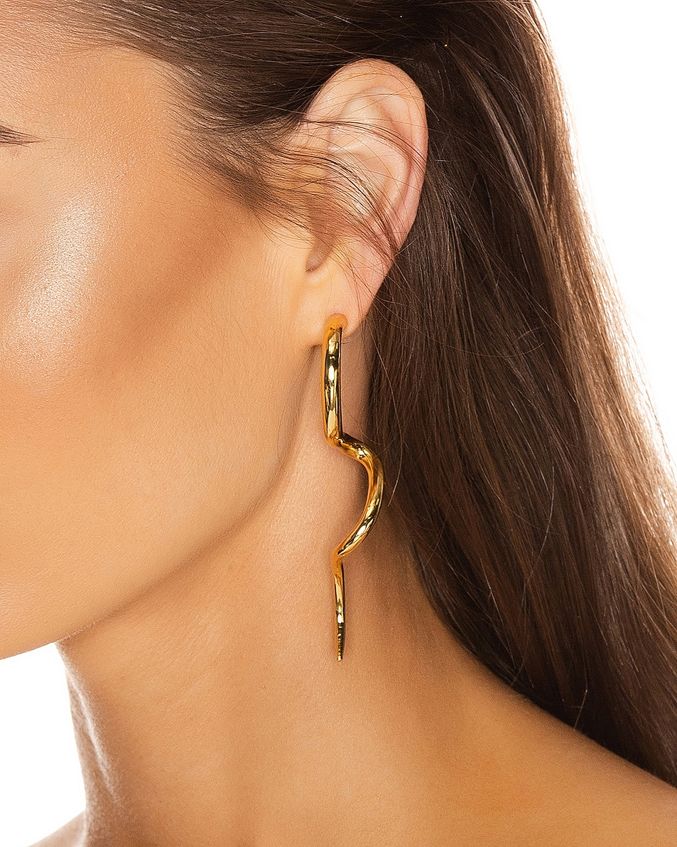 Image 2 of Cult Gaia Drea Earring in Gold