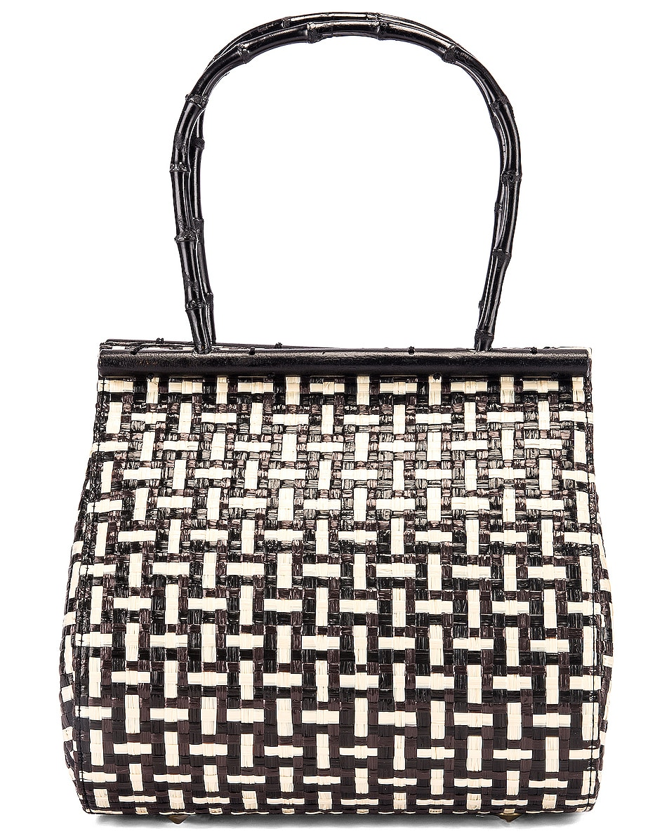 Image 1 of Cult Gaia Via Bag in Black Multi