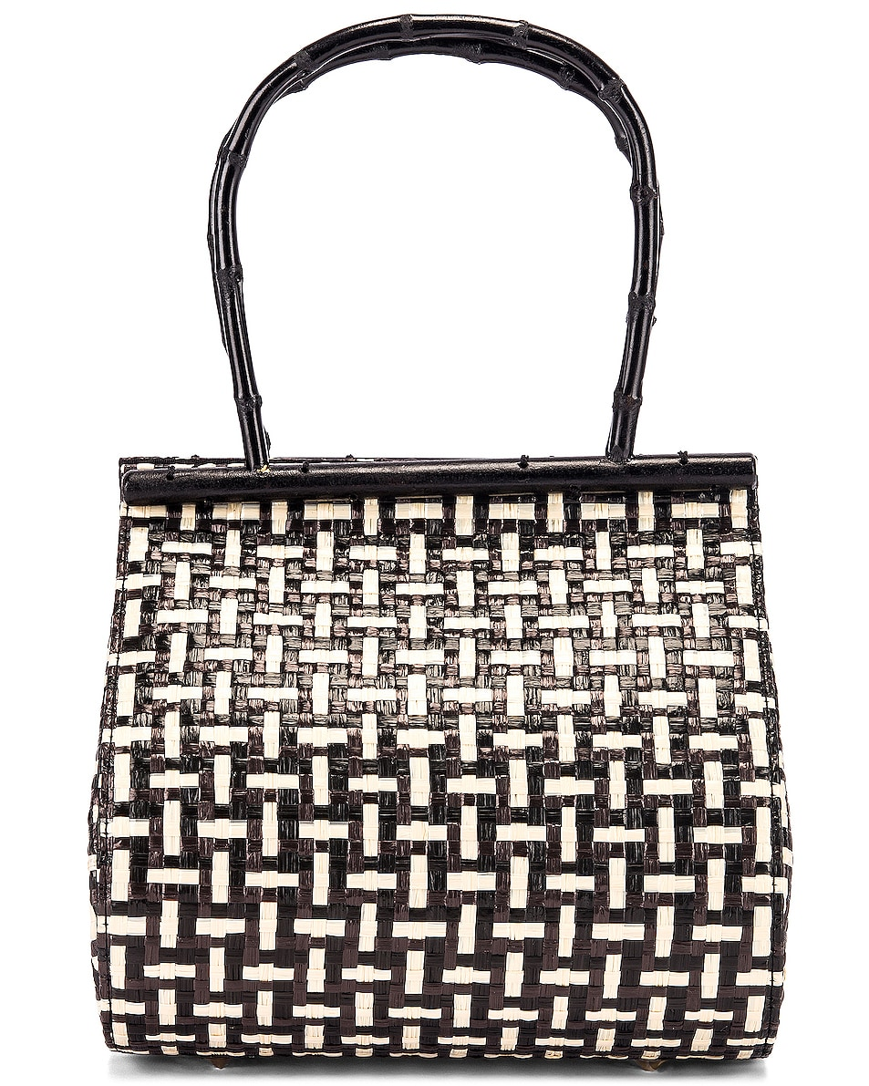 Image 3 of Cult Gaia Via Bag in Black Multi