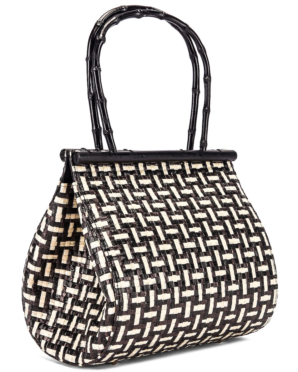 Image 4 of Cult Gaia Via Bag in Black Multi
