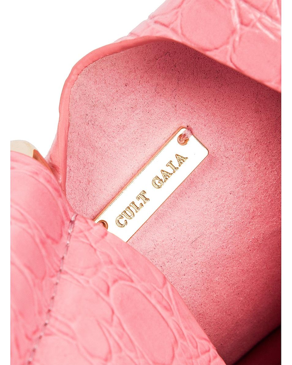 Image 5 of Cult Gaia Mini Astraea Tote Bag in Bubblegum