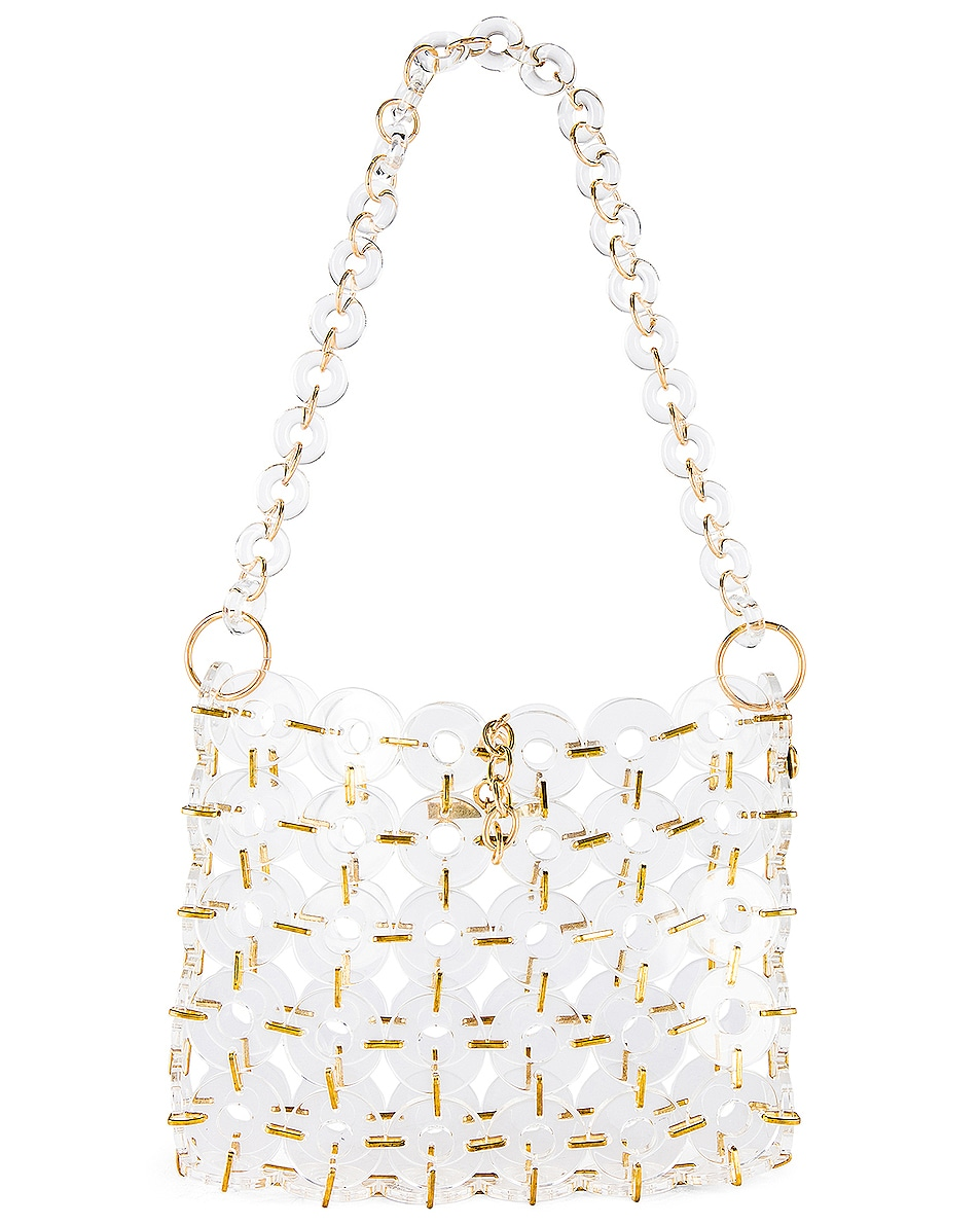 Image 3 of Cult Gaia Acrylic Jasmin Bag in Clear