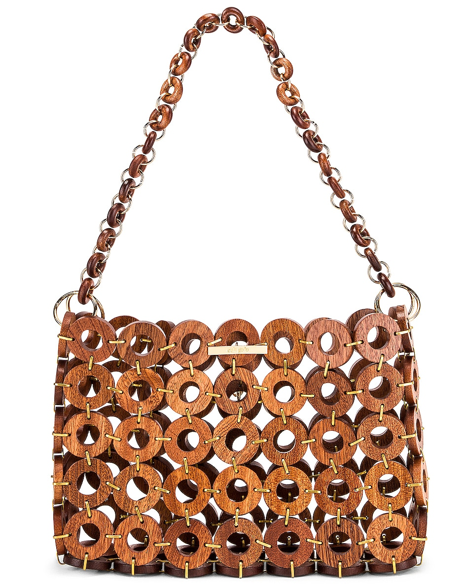 Image 1 of Cult Gaia Jasmin Bag in Mahogany