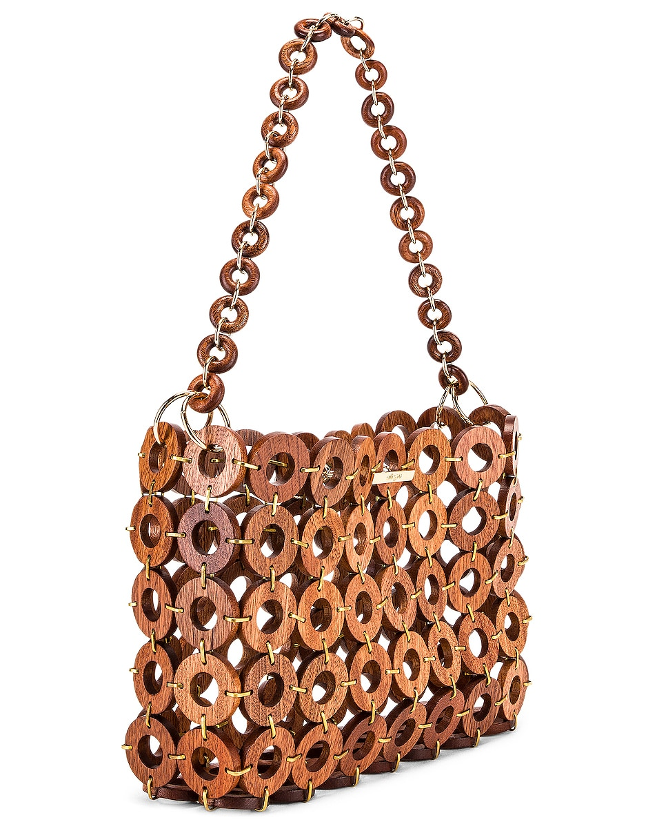 Image 4 of Cult Gaia Jasmin Bag in Mahogany