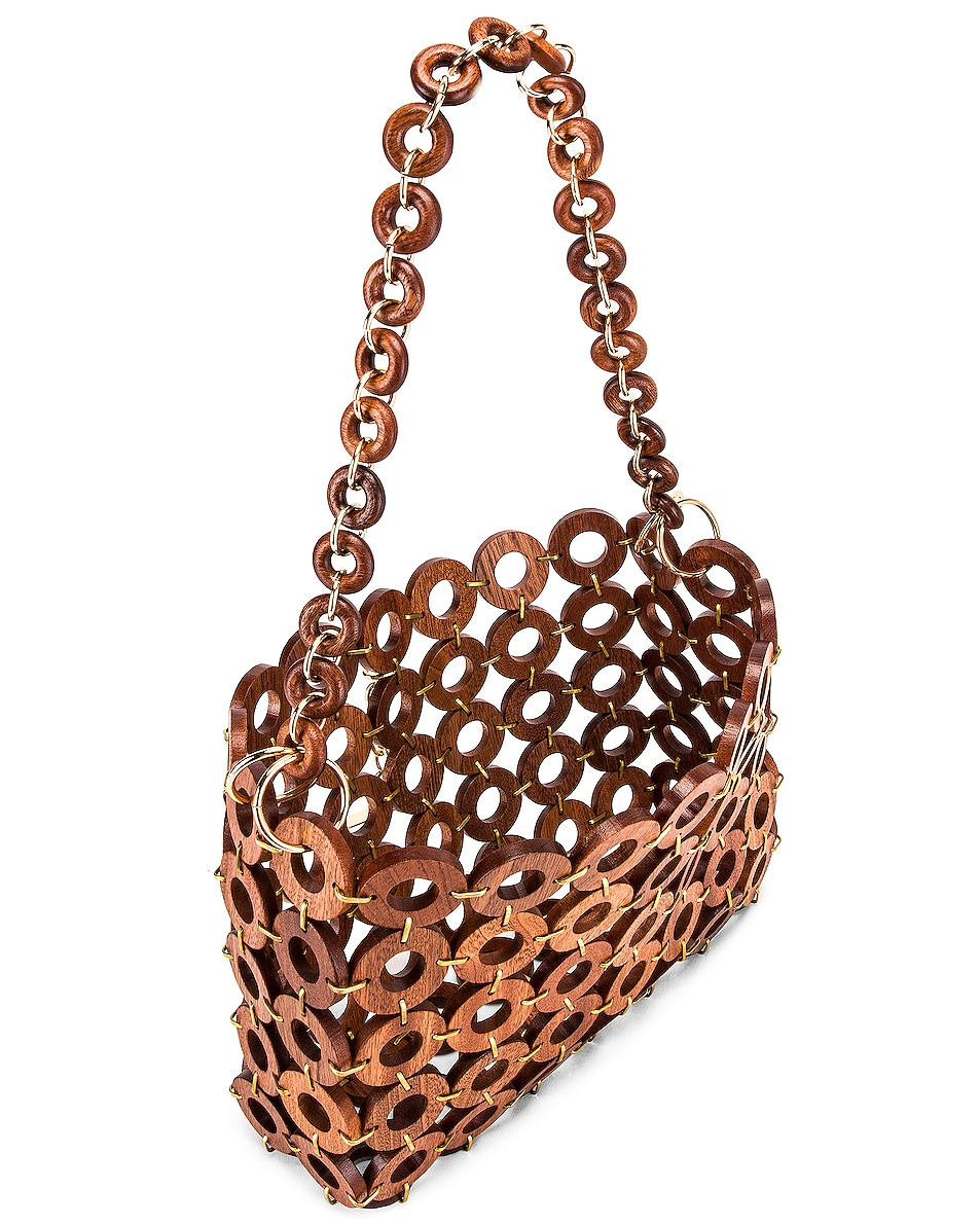 Image 5 of Cult Gaia Jasmin Bag in Mahogany
