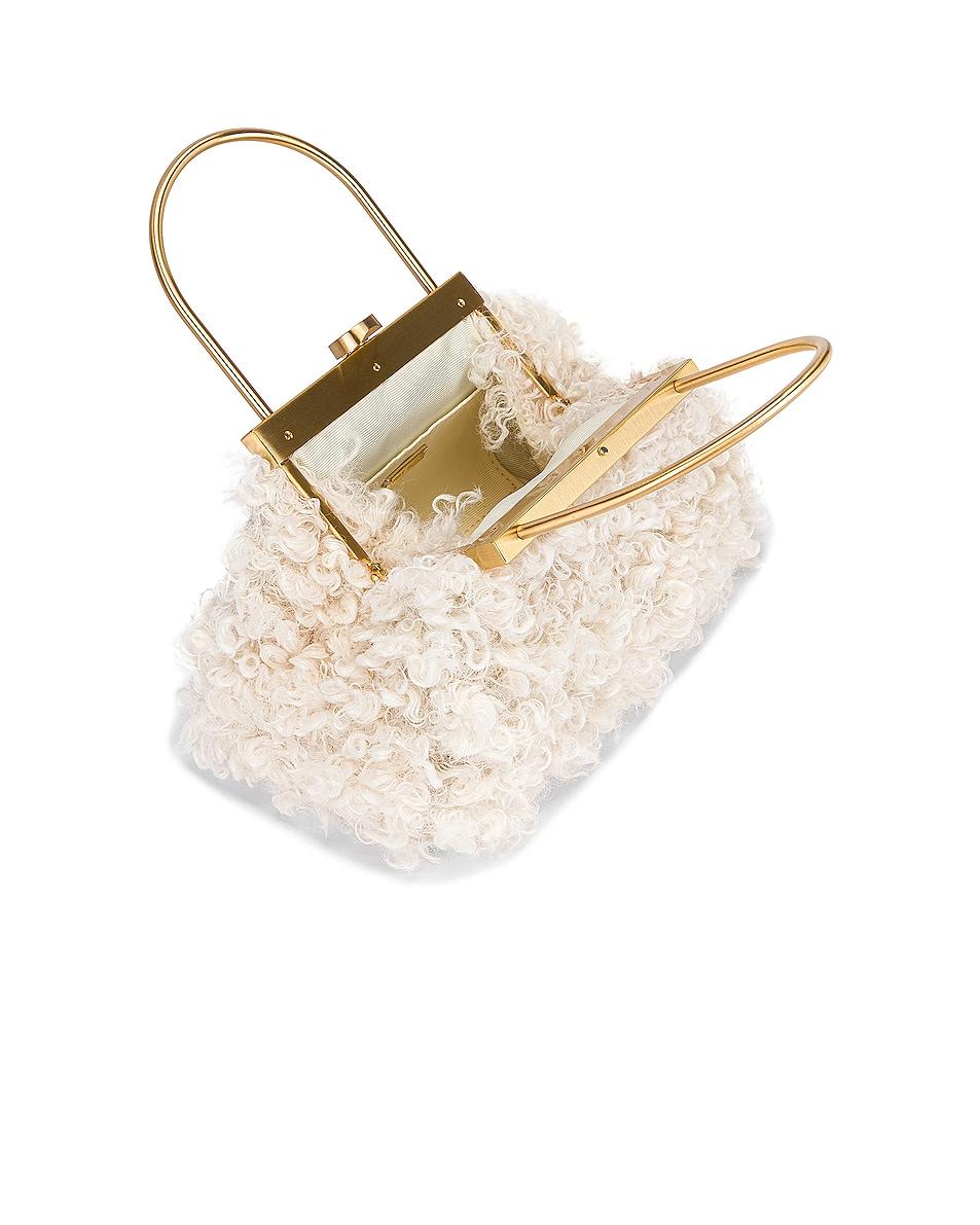 Image 4 of Cult Gaia Estelle Mini Bag in Off White