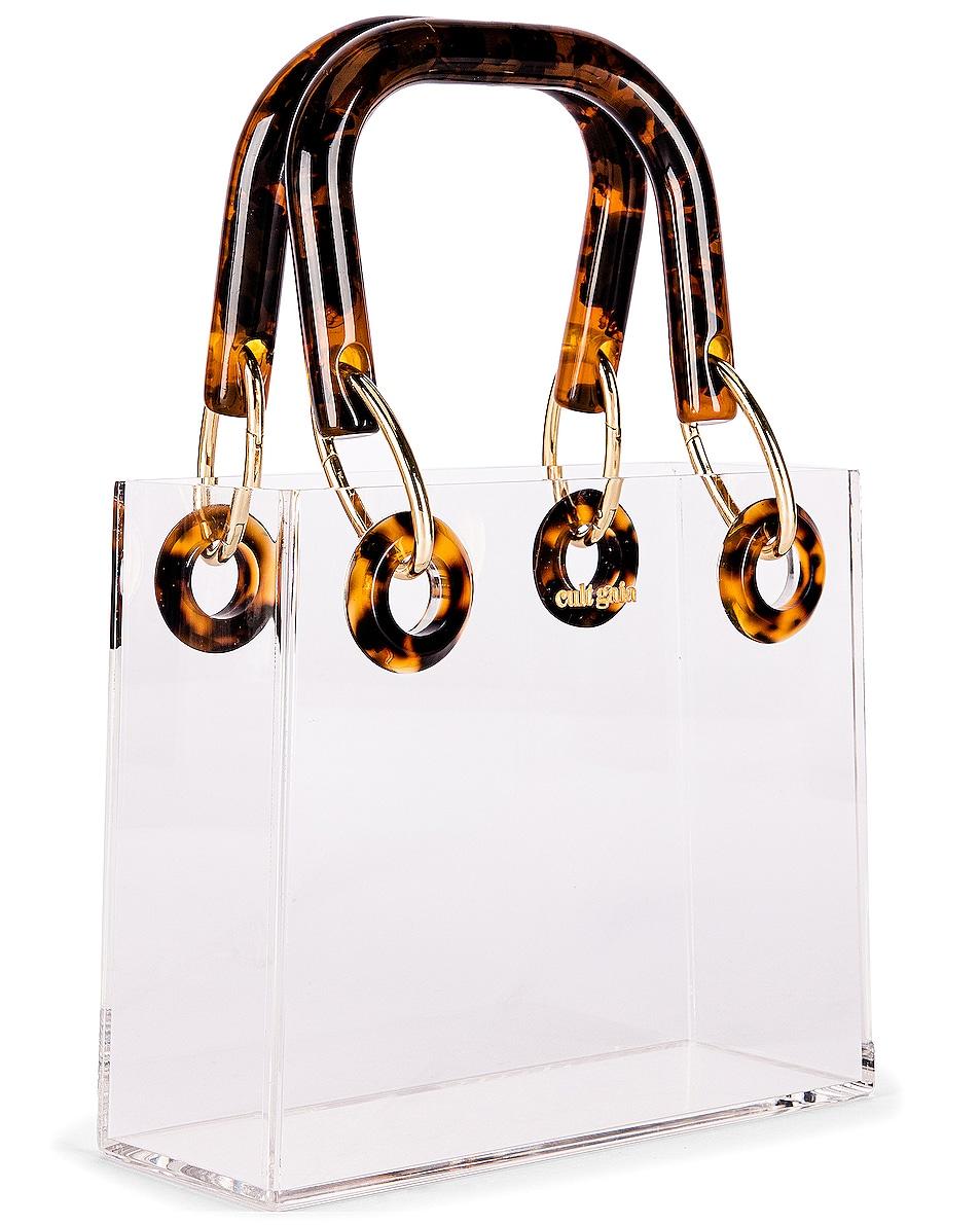Image 3 of Cult Gaia Geneva Bag in Clear