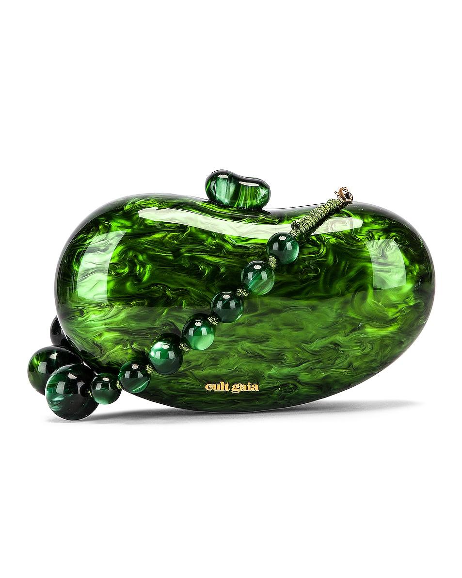Image 1 of Cult Gaia Tallulah Bean Shoulder Bag in Malachite