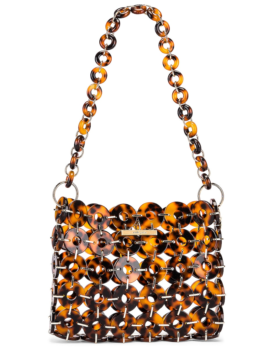Image 1 of Cult Gaia Acrylic Jasmin Bag in Tortoise