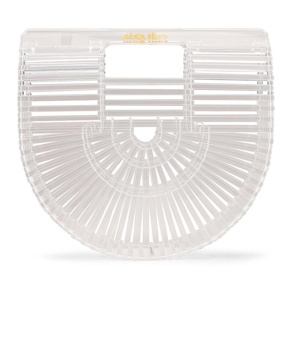 Image 3 of Cult Gaia Mini Acrylic Ark Bag in Clear