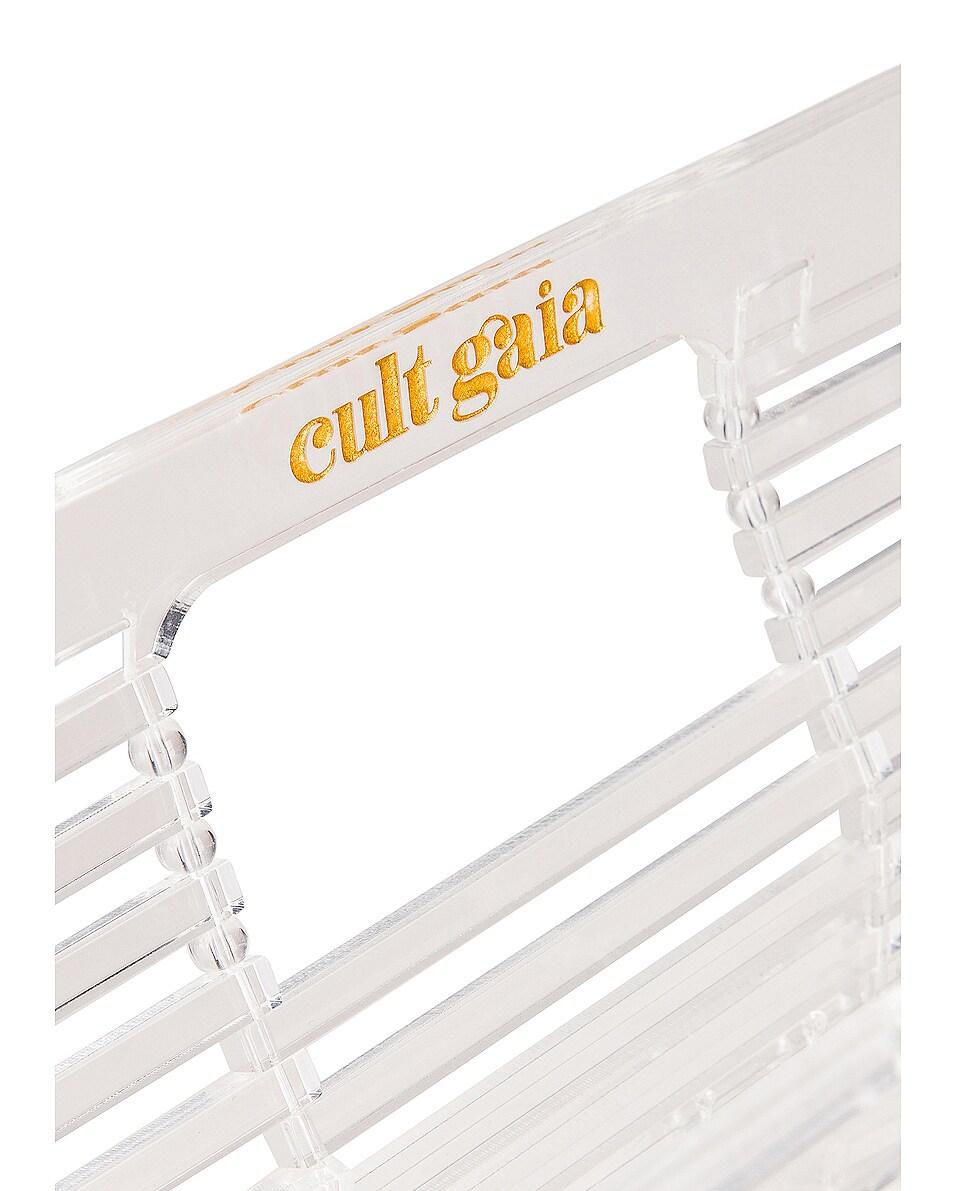 Image 6 of Cult Gaia Mini Acrylic Ark Bag in Clear