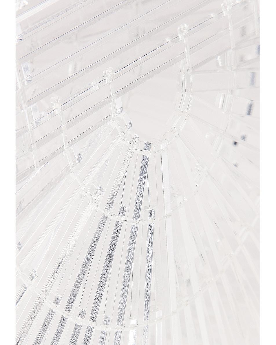 Image 7 of Cult Gaia Mini Acrylic Ark Bag in Clear