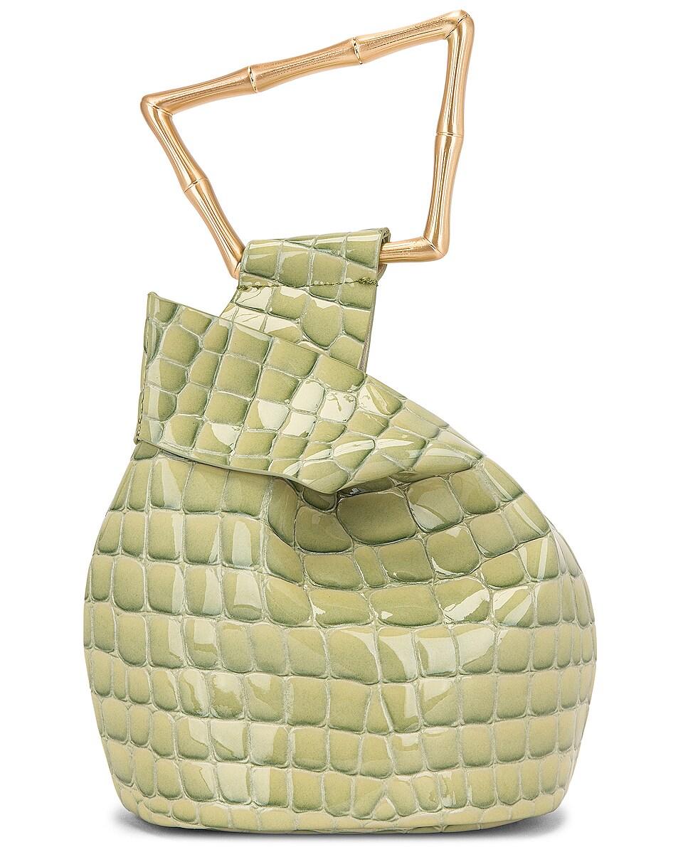 Image 3 of Cult Gaia Mini Astraea Tote Bag in Surf