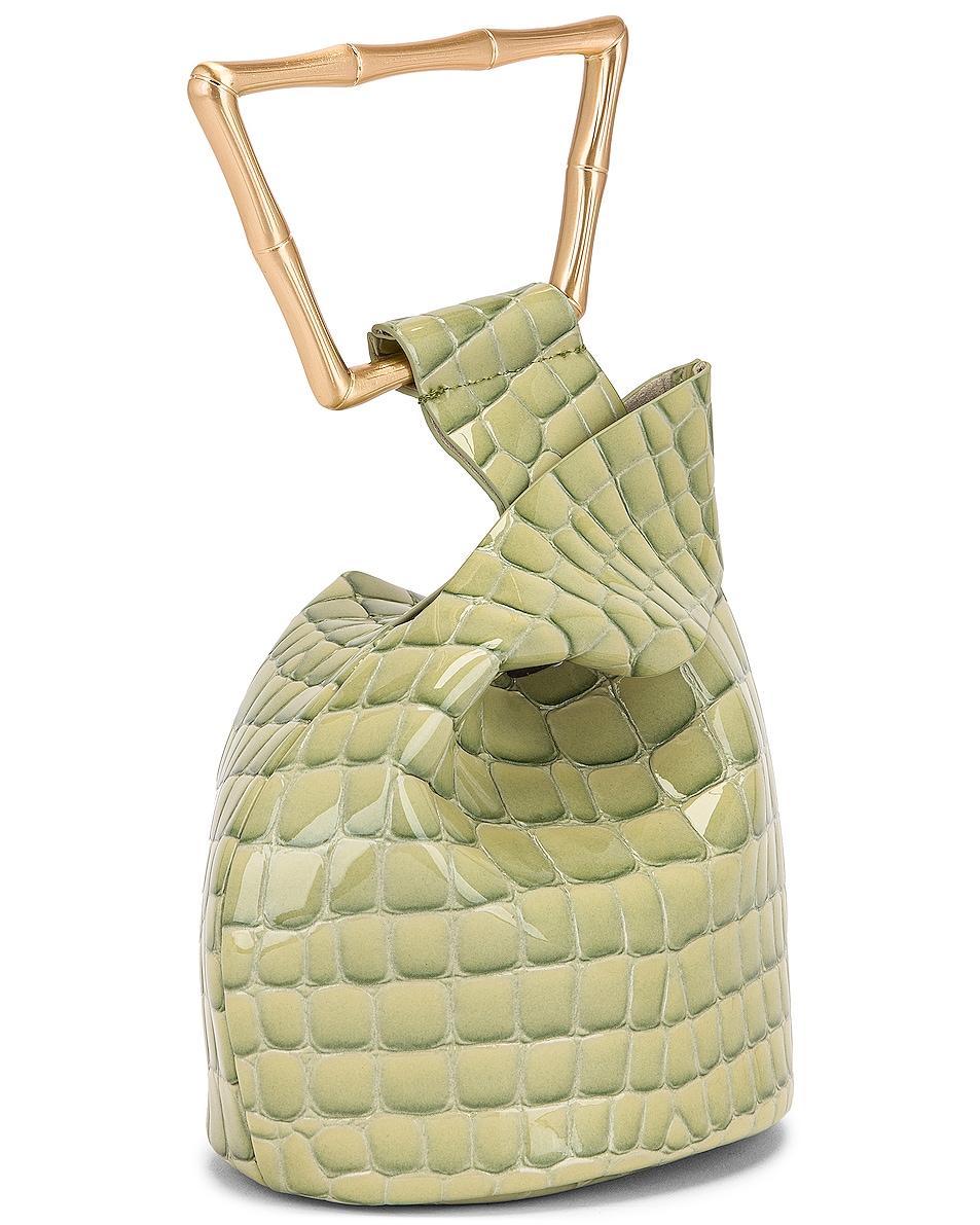 Image 4 of Cult Gaia Mini Astraea Tote Bag in Surf