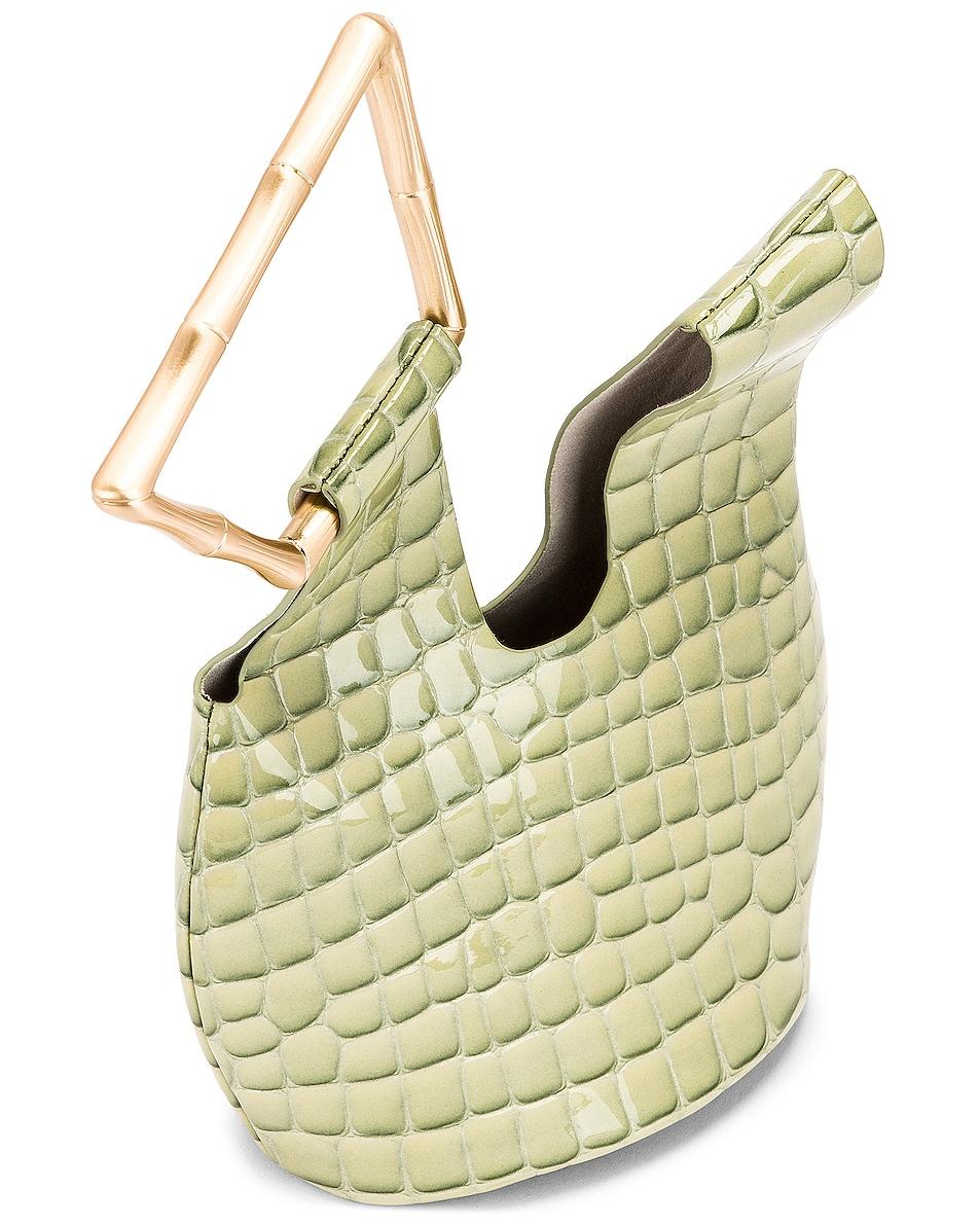 Image 5 of Cult Gaia Mini Astraea Tote Bag in Surf