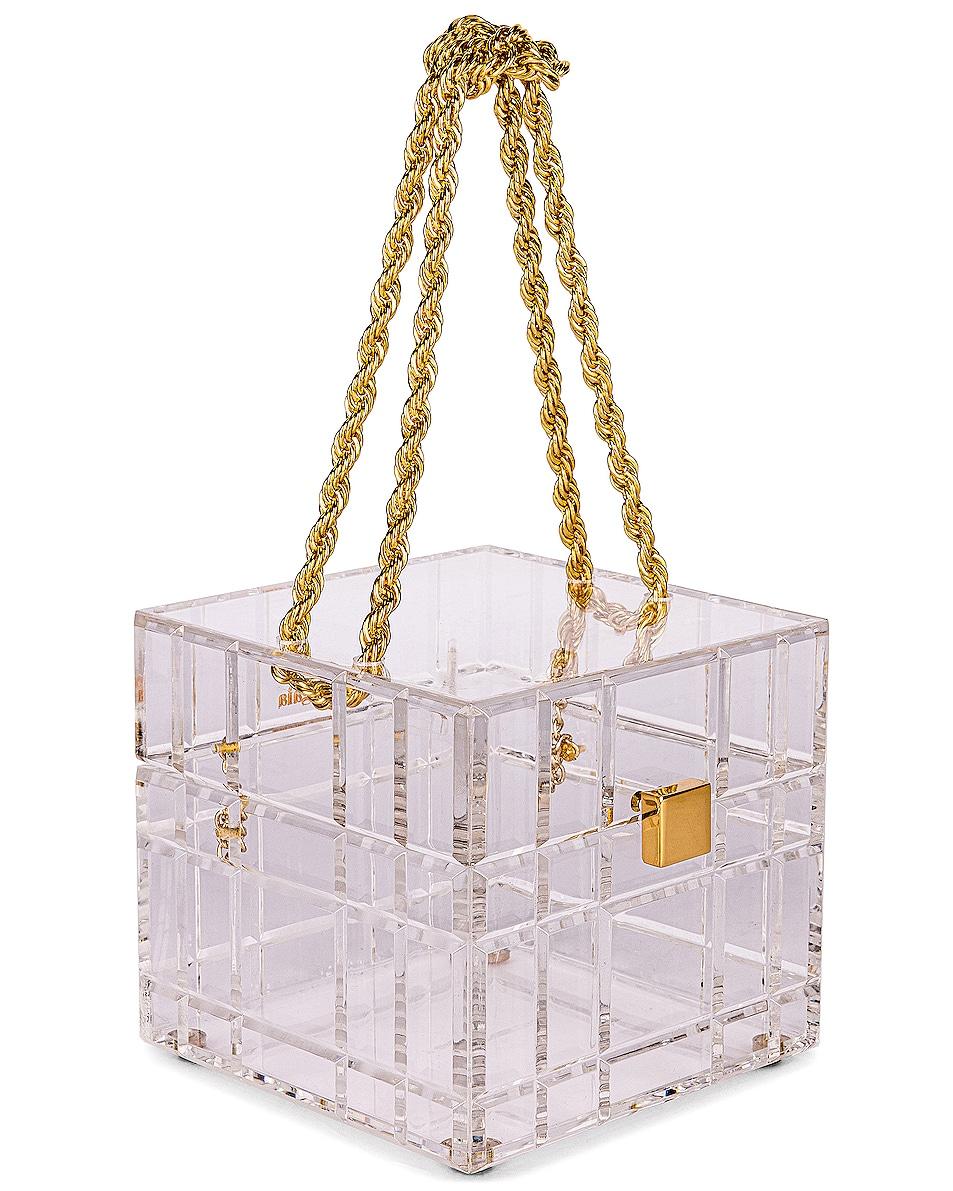 Image 4 of Cult Gaia Phaedra Top Handle Bag in Clear