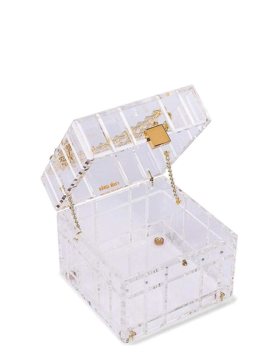 Image 5 of Cult Gaia Phaedra Top Handle Bag in Clear